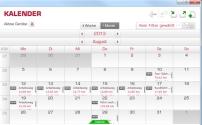 Kalenderansicht im Sigma Sport Data Center 3