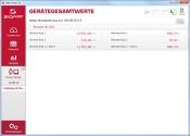 Gerätegesamtwerte im Sigma Sport Data Center 3