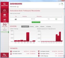 Startbildschirm des Sigma Sport Data Center 3